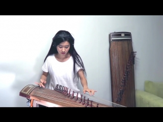 Во мочит ! by Luna Lee AC-DC- Back in Black Gayageum cover