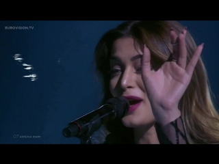 Iveta Mukuchyan - LoveWave Armenia Live at Semi - Final 1 at the 2016 Eurovision Song Contest
