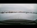 Покатушки на СеРВанте c разворотом на льду на озере Алебашево на полноприводном Honda CR-V Передняя камера