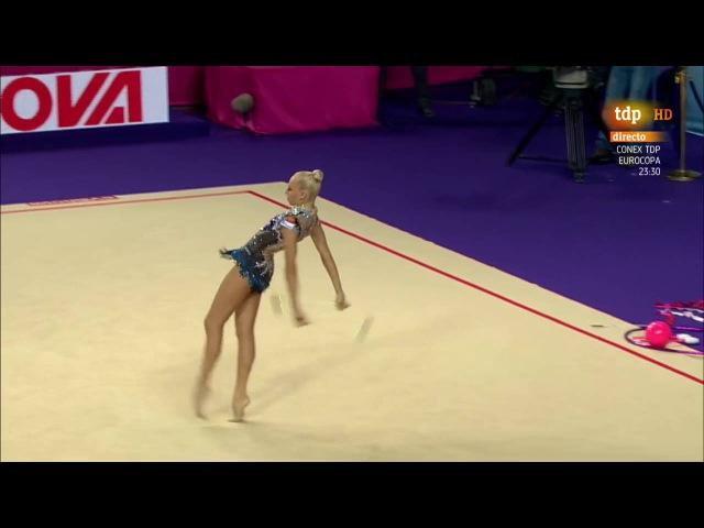 Yana Kudryavtseva. 2016 European Championships. AA. Clubs