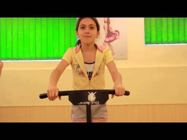 Jumping Kids в Ківі Фітнес (фітнес на батуті) / фитнес на батуте