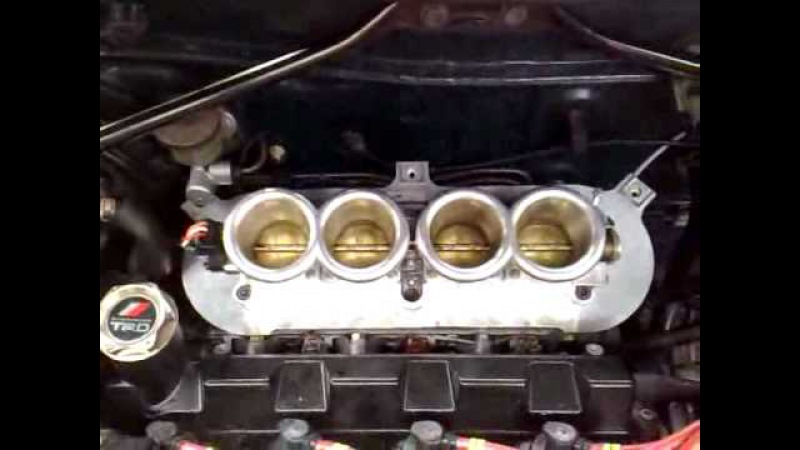 My Celica 3SGE on Throttle Bodies
