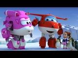 Супер Крылья - Джетт и его друзья - Парад пингвинов - Мультики про самолетики-трансформеры