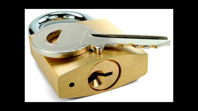 Как Сделать КЛЮЧ ПОД ВСЕ ЗАМКИ how to make a key for all locks