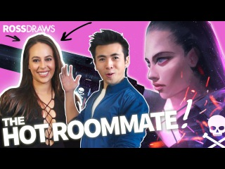 RossDraws: The Hot Roommate!