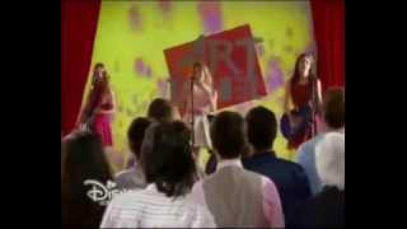 Violetta 3 - Las chicas cantan Veo veo y Fran le canta a Diego Ep 10