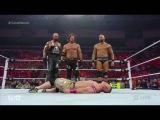 WWE RAW 5302016 AJ Styles turns heel on John Cena