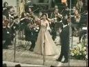 Anna Netrebko and Rolando Villazon Moskow konzert 2006 Brindisi  from La  Traviata