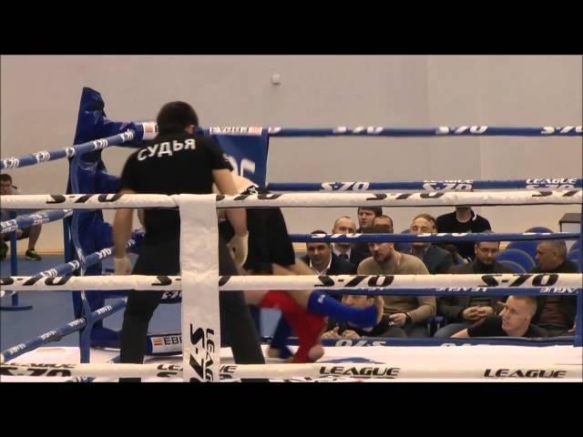 Ашурлаев Наби vs Алексей Ганненко Чемпионат Москвы по мама 2015г