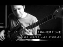 Summertime Jazz Standard for Solo Bass Guitar with Looper Pedal