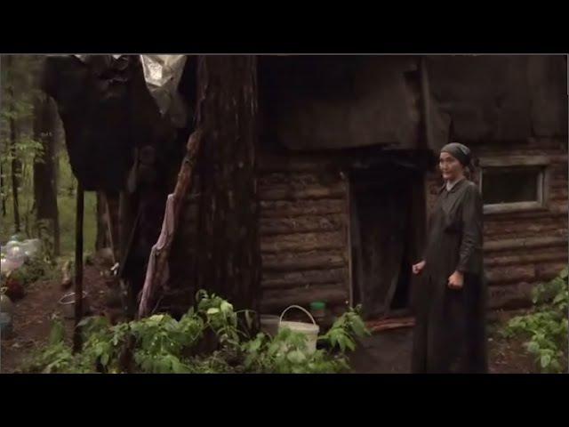 Подмосковье Отшельница живёт в лесу питаясь яблоками и мухоморами