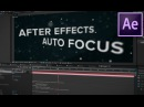 After Effects Tutorial Link Focus Distance to Layer Quick Tip