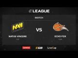 Na'Vi vs Echo Fox, map 1 nuke, ELEAGUE Season 1