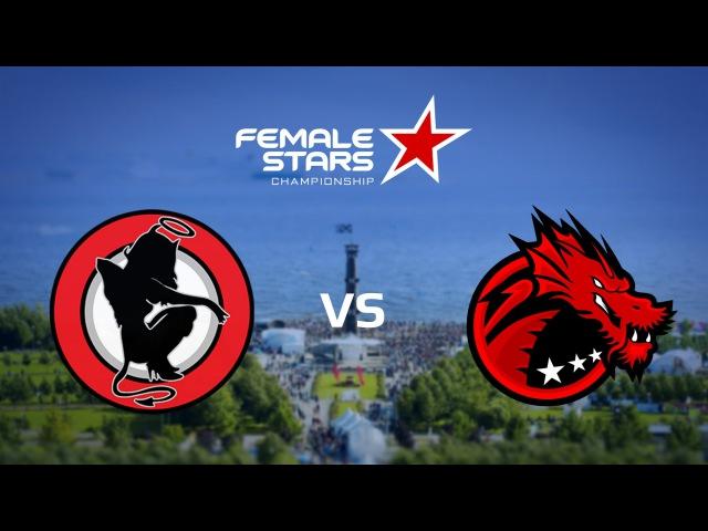 BD.Fem vs. HellAngels, map 1 Cbbl, FemaleStars Championship