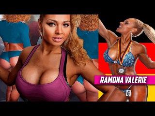 RAMONA VALERIE Alb IFBB Bikini Fitness Model: Workout & Diet # GERMANY