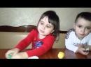 Кіндери киндер Мадам Софи распаковка Kinder surprise