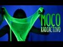 Cómo hacer MOCO radiactivo - SLIME fluorescente Experimentos Caseros