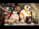 XRobots - Star Wars BB-8 BIG Toy unboxing review & comparison, Sphero, Bladez, Hasbro