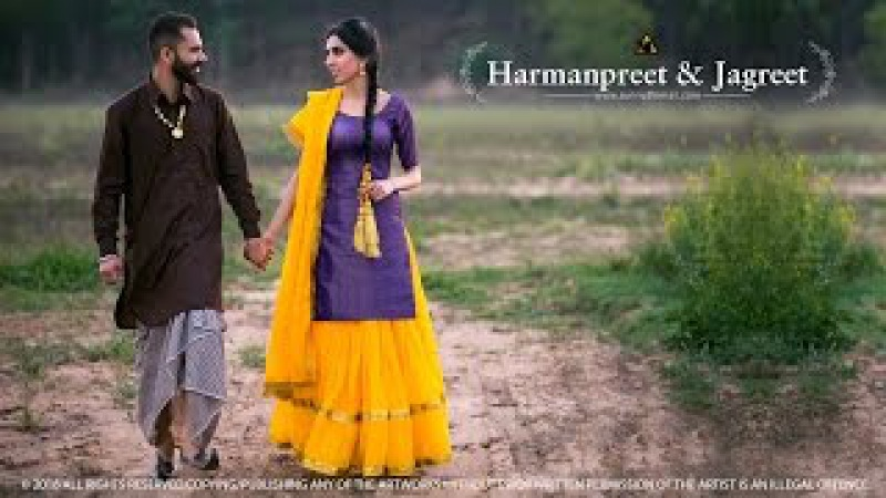 2016 | Punjabi Pre Wedding | Harmanpreet Jagreet | Sunny Dhiman Photography