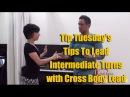 Salsa Tip Tuesdays 2 Lead and follow crossbody lead in salsa intermediate level