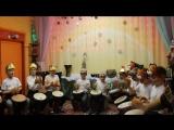Детская Школа Барабанов. Новогодний концерт в Музее-Театре