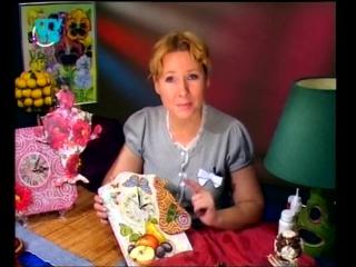 Наташа Фохтина. СГУ-ТВ, 2010г.  Настенные часы. Коллаж.
