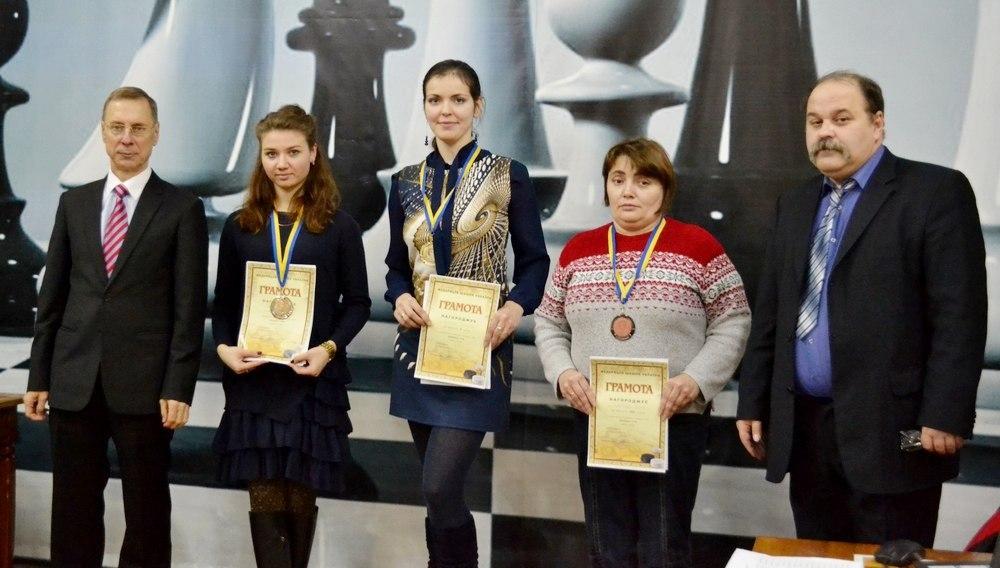 Призери Чемпіонату України з шашок-100 з швидкої гри