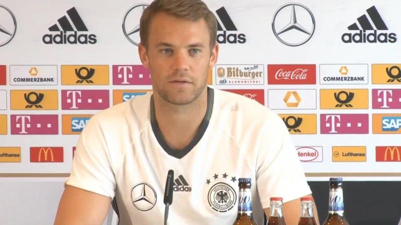 Manuel Neuer: Es macht mich stolz, Kapitän der Nationalmannschaft zu sein.