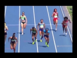 U.S. womens 4x100 relay disqualified after Allyson Felix is ELBOWED by a Brazil