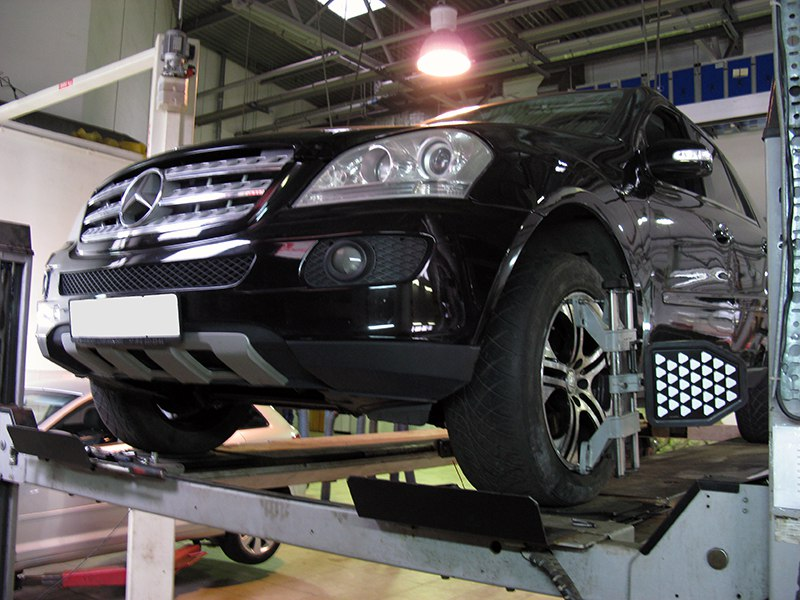 Обслуживание Mercedes