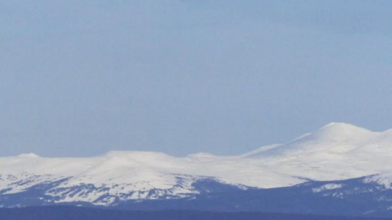 Вид с вершины Вогульского камня.