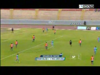 César vallejo derrotó por 3-0 a real garcilaso y clasificó a la copa libertadores