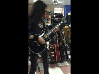 Тест Gibson LP Custom