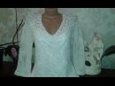 Платье крючком. Квадратный мотив. Платье из мотивов Knit crochet dress Women's knitting