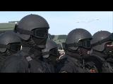 Рамзан Кадыров - C Президентом Татарстана Рустамом Миннихановым посетили Учебный Центр СОБР ТЕРЕК