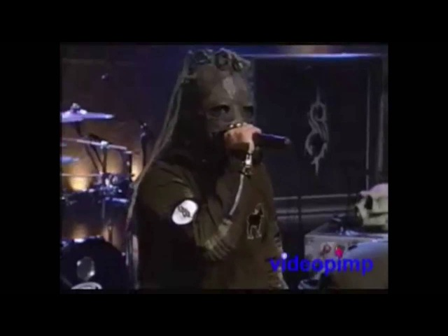 Slipknot The Heretic Anthem Live on Conan 2001