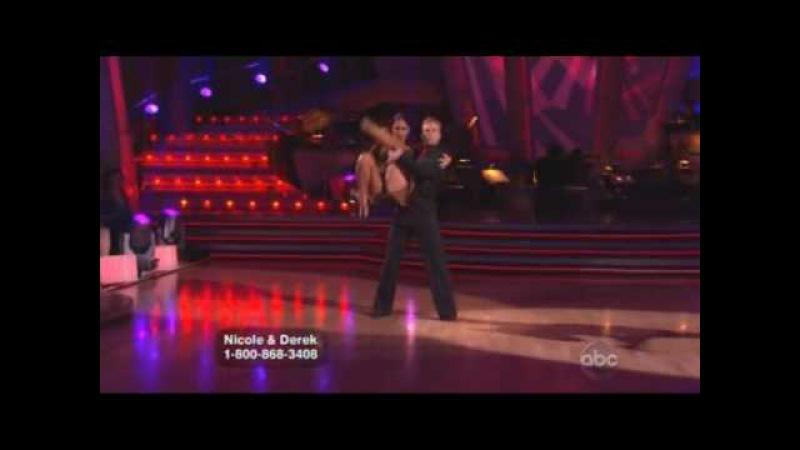 Nicole Scherzinger Derek Hough - Dancing With The Stars - Argentine tango Week 9
