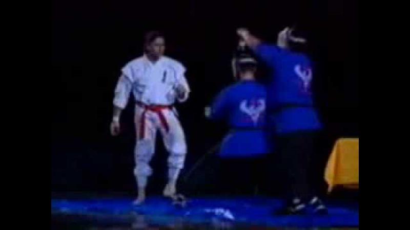 Frank W Dux Koga Ryu Ninjutsu Bercy, 1993