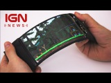Flexible Smartphone Lets Users Control Their Apps With Bending - IGN News