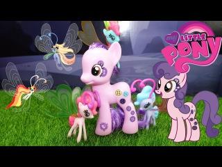 My little pony игровой набор пони Buttonbelle и Breezies серия Cutie Mark Magic Collection