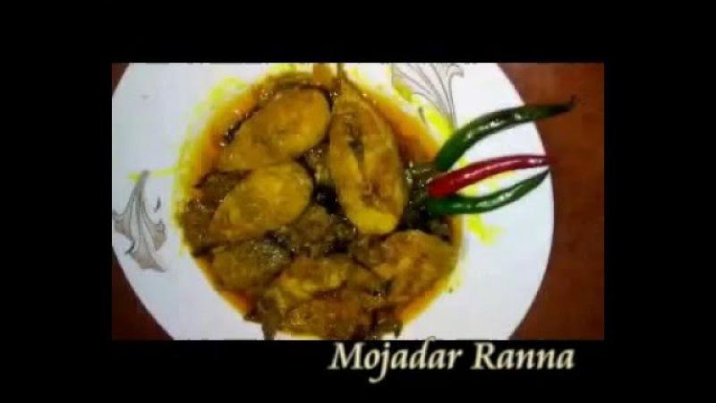 Mojadar Ranna 1 বোয়াল মাছের দো পেয়াজী