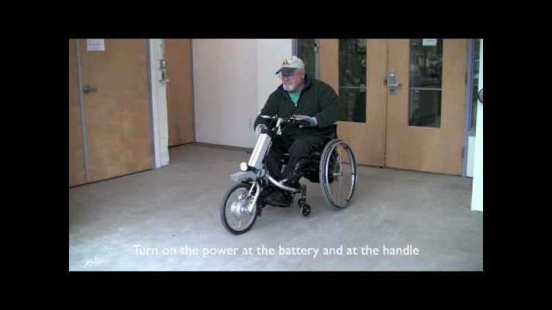 The Firefly Attachable Electric Handcycle by Rio Mobility