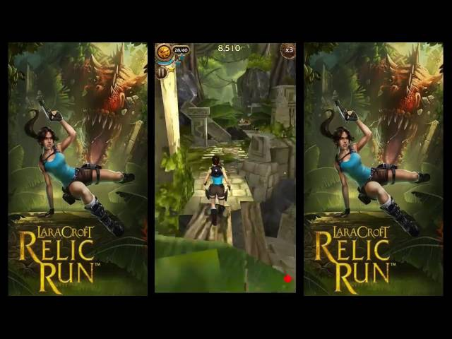 Lara Croft Relic run Android Gameplay Level 3