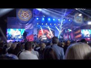 """Группа""""Белый орёл"""".Концерт на площади Нахимова в Севастополе 9 мая 2016 года. часть 2 из 3"""
