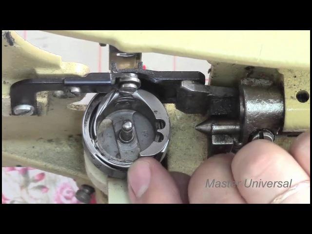 Как устранить обрыв верхней нити на Veritas 8014/43. Видео №127.
