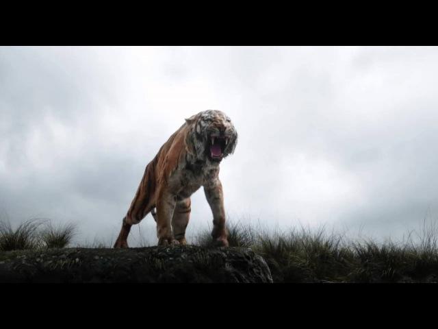 Книга джунглей Трейлер №2 дублированный 720p