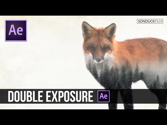 After Effects Tutorial Double Exposure Animation