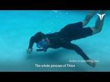 Изобретены искусственные жабры для плавания под водой (Triton gills)