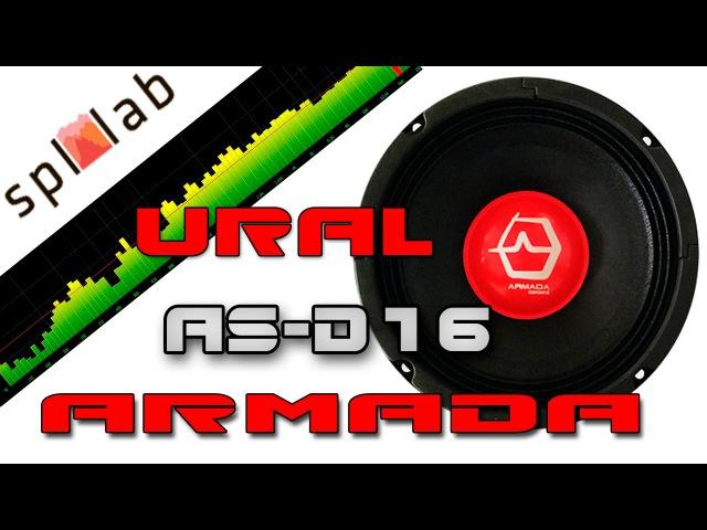 Тест акустики URAL AS-D165 ARMADA | Spl Lab | Замер АЧХ | Замер громкости |