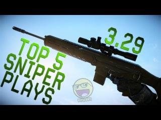 TOP 5 SNIPER PLAYS 3.29